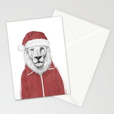 Santa lion Stationery Cards