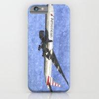 American Airlines Boeing 777 Art iPhone 6 Slim Case