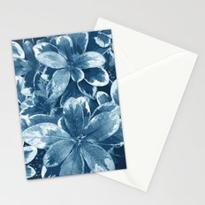 My blue leaves Stationery Cards