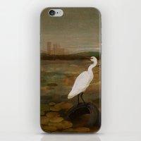 Marshland Vs Man iPhone & iPod Skin