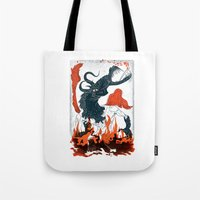 A Jersey Devil Haunting Tote Bag