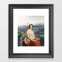 Lady of the Fields Framed Art Print