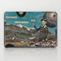 Hallucination Must Be Something More Than Reality iPad Case