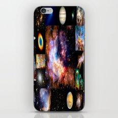 Space Galaxy Nebula Collage iPhone & iPod Skin
