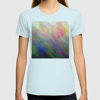 RK-Type Womens Fitted Tee Light Blue SMALL