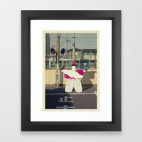 Postcard From Japan: Kyo… Framed Art Print