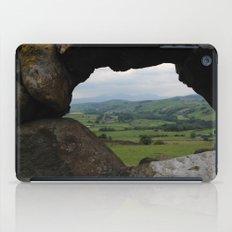 Rock Wall Window iPad Case