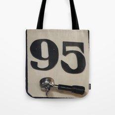 95 Coffee Tote Bag