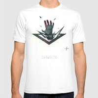 LivingDead Mens Fitted Tee White SMALL