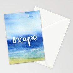 Escape [Collaboration with Jacqueline Maldonado] Stationery Cards