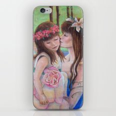 Fairy Kisses iPhone & iPod Skin