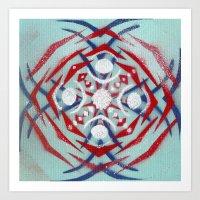 Milyredduckseye Art Print