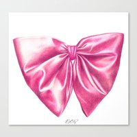 Tied With A Bow Canvas Print