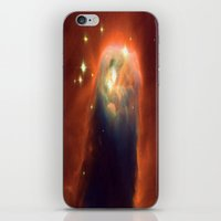 Space Volcano iPhone & iPod Skin
