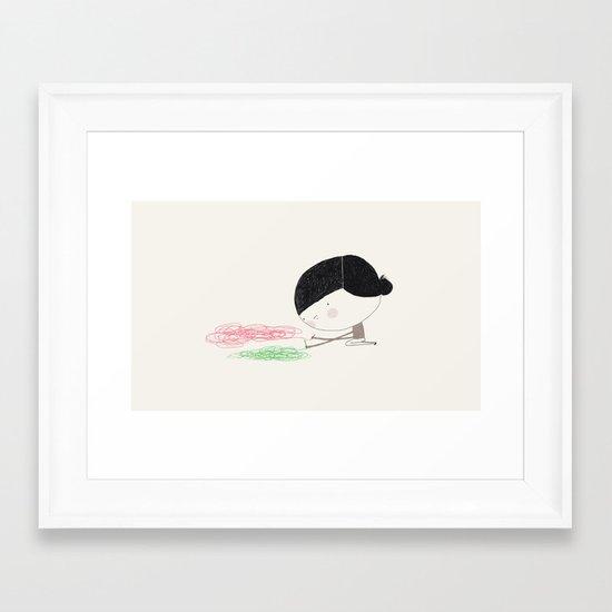 Skilful Framed Art Print