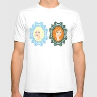 The Royal Sisters Of Ara… Mens Fitted Tee White SMALL