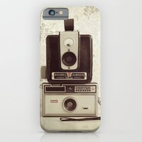 iPhone & iPod Case featuring Vintage Cameras by Ashley Jensen