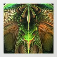 Alien Life Form Canvas Print
