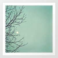 Holding The Moon Art Print