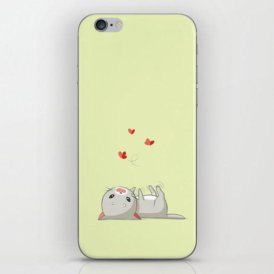 Playing Kitten iPhone & iPod Skin