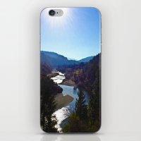 Sunshine River iPhone & iPod Skin