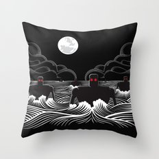 They Came At Night Throw Pillow