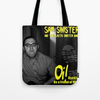 Oi! Used To Be A Friend … Tote Bag