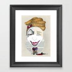 Il serpente Framed Art Print