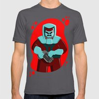 Spaceman Mens Fitted Tee Asphalt SMALL