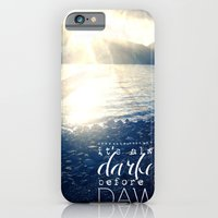 iPhone & iPod Case featuring Always Darkest Before Dawn by Audrey Kelly