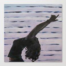 Yoga Booty Canvas Print
