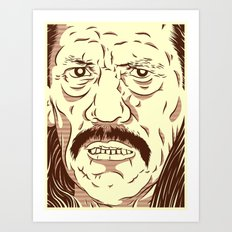 Don't fuck with the wrong mexican Art Print