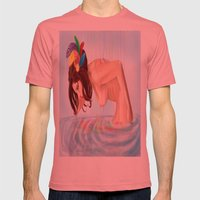 Bliss Mens Fitted Tee Pomegranate SMALL