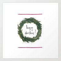 Happy Christmas! #3 Art Print