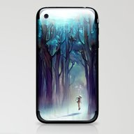 iPhone & iPod Skin featuring AquaForest by Loish