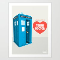 Doctor Who: Long Live Th… Art Print