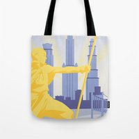 Republic City Travel Poster Tote Bag