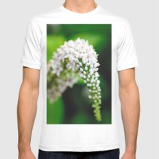 Spring has Bloomed White Mens Fitted Tee SMALL
