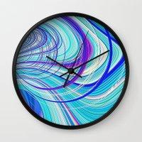 Re-Created  Hurricane 5 by Robert S. Lee Wall Clock