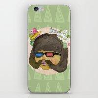 Girlstache iPhone & iPod Skin