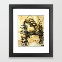 Tea Breeze Framed Art Print