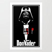 DonVader Art Print