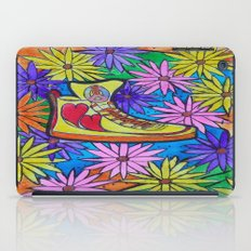 SNEAKER OF PEACE AND LOVE iPad Case