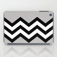 GRAY COLORBLOCK CHEVRON iPad Case