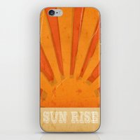 Sun Rise iPhone & iPod Skin