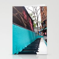 Vintage Piano (1) Stationery Cards