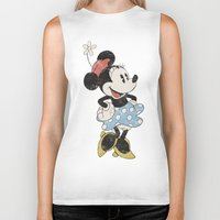 Minnie Mouse Biker Tank