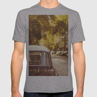 Autumn streets Mens Fitted Tee Athletic Grey SMALL