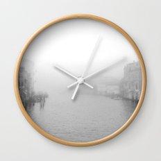 Fog in Venice Wall Clock