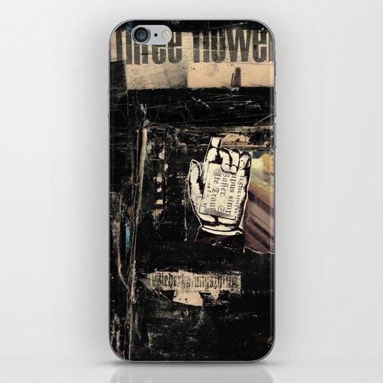 Three Flowers iPhone & iPod Skin